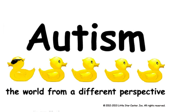 Illustration: autism - see the world from another perspective