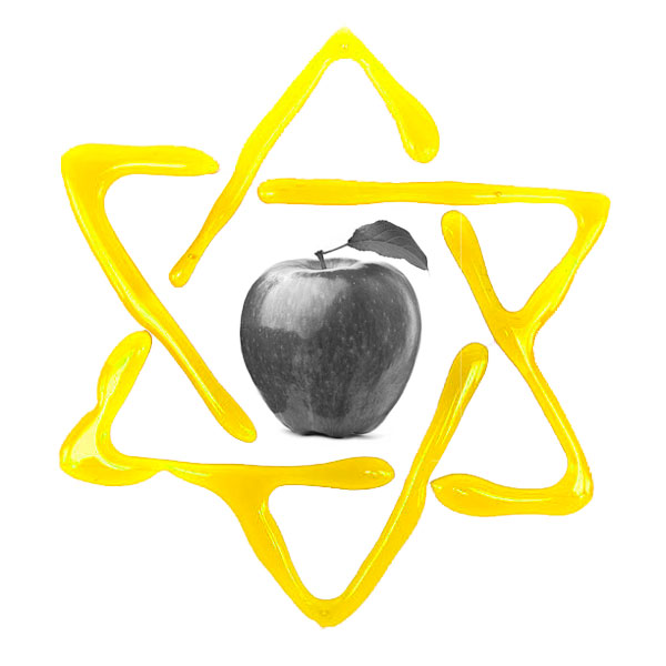 Illustation: Shana tova – apple with honey 2016