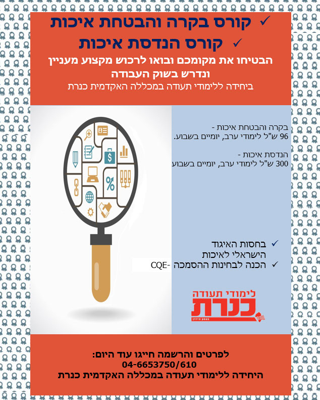 Kinneret college courses