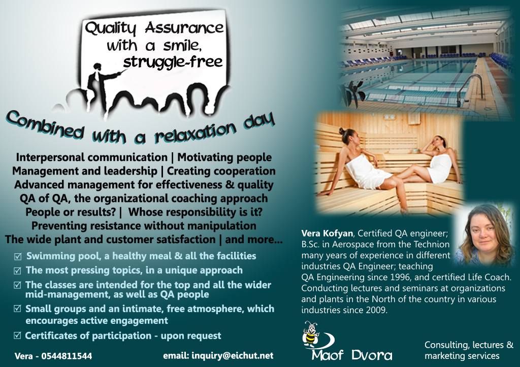 Flyer for Relaxation and Training Plan
