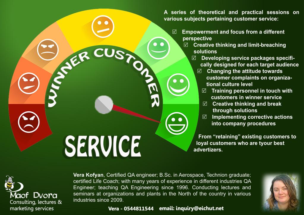 Flyer for Winner Service Plan