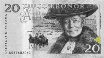 20 Swedish krona Bill