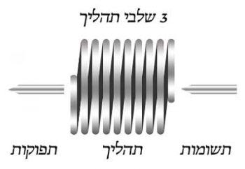 3 שלבים בתהליך