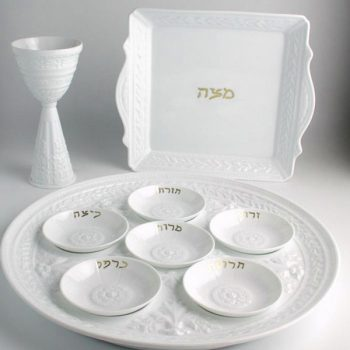 Illustration: Passover plate