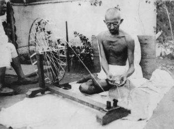 מהאטמה גנדי טווה