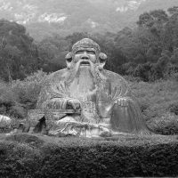 Lao-Tzu, statue in the Quanzhou area, at the feet of mount Qingyuan