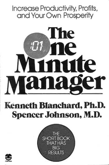 Cover: The One Minute Manager - about results