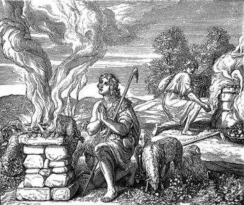 Sacrifices of Cain and Abel