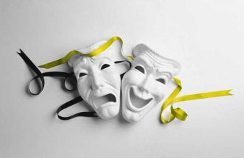 Illustration: Purim - masks