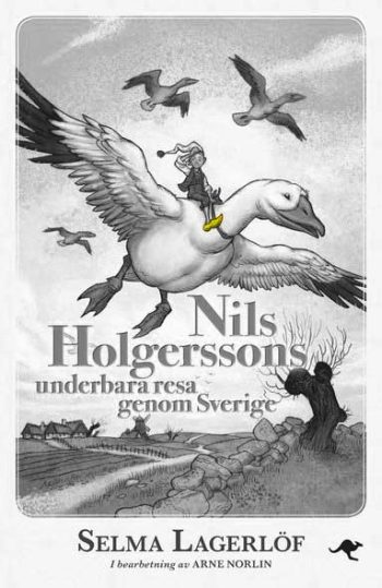 Book cover for The Wonderful Adventures of Nils