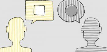 אילוסטרציה: אופן נורמלי של תקשורת