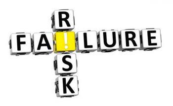 אילוסטרציה: סיכון הוא כשלון